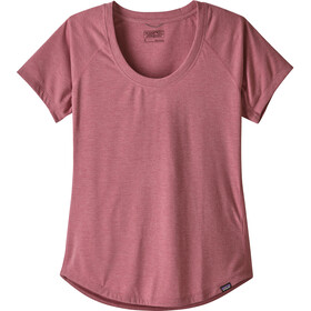 Patagonia Cap Cool Trail Chemise manches courtes Femme, star pink